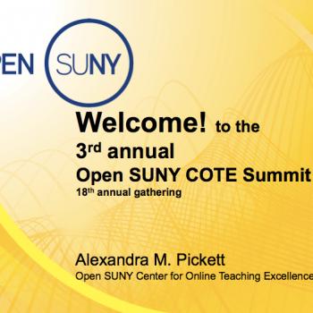 Open SUNY COTE Summit 2017